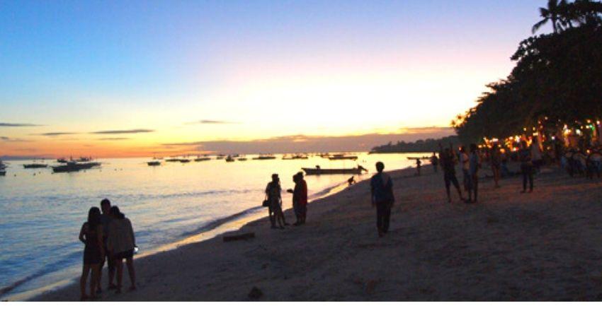 Alona Beach Buceo Filipinas